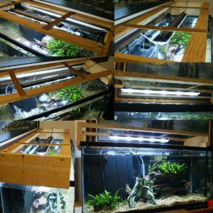Aquarium Hood With Led Lighting