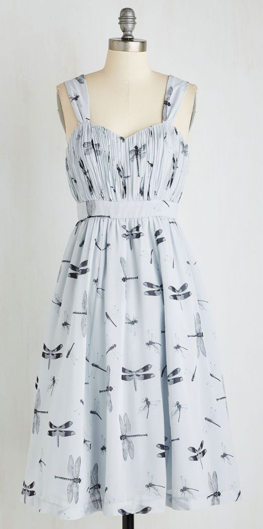 Dragonfly Away With Me Dress