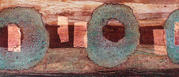 Clare Maria Wood - Urchins #collagraph #artist #gnas2017 #riponcathedral #northyorkshire