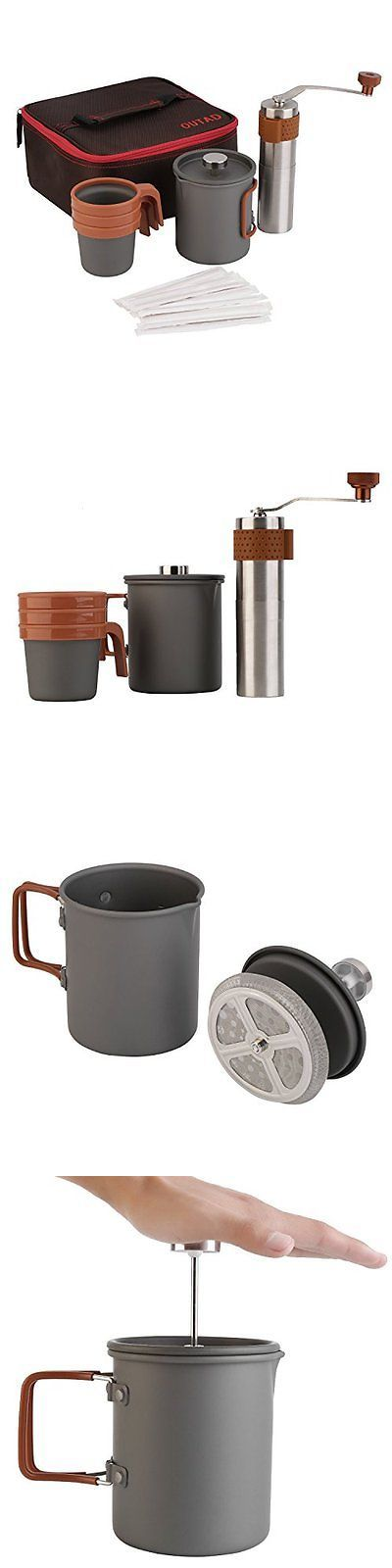 French Presses 98851: Outad Portable Coffee Maker Set 20Fl.Oz French Press Coffee Maker | Manual | 3 X -> BUY IT NOW ONLY: $54.52 on eBay!