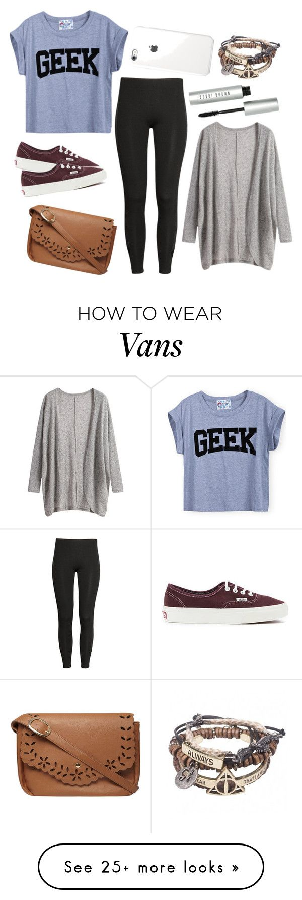 """Daughter Of Athena"" by cfull on Polyvore featuring H&M, Bobbi Brown Cosmetics, Vans and Dorothy Perkins"