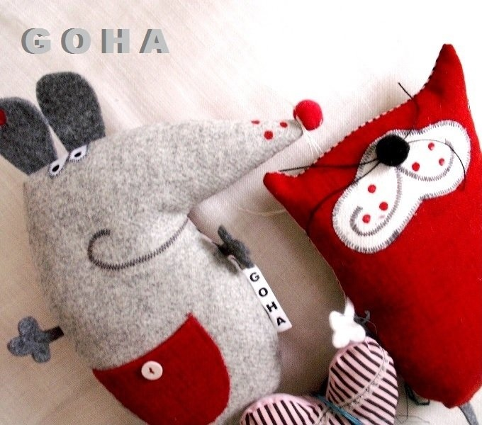 cute mouse softies