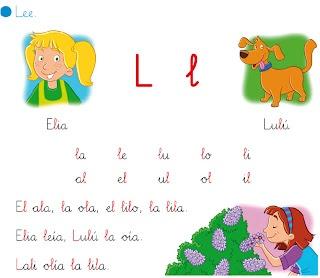 http://primerodecarlos.blogspot.com.es/2012/09/lectura-interactiva-de-la-letra-l.html   EL BLOG DE PRIMERO: LECTURA INTERACTIVA DE LA LETRA L