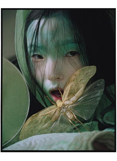 Magical Thinking Tim Walker - Photographer Jacob K - Fashion Editor/Stylist Julien d'Ys - Hair Stylist Maarit Niemela - Hair Stylist Stephane Marais - Makeup Artist Shona Heath - Set Designer Honey - Manicurist Xiao Wen Ju - Model Liu Wen - Model