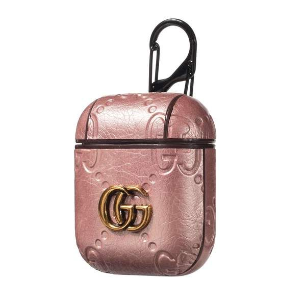 GG Pendant Leather AirPods Case