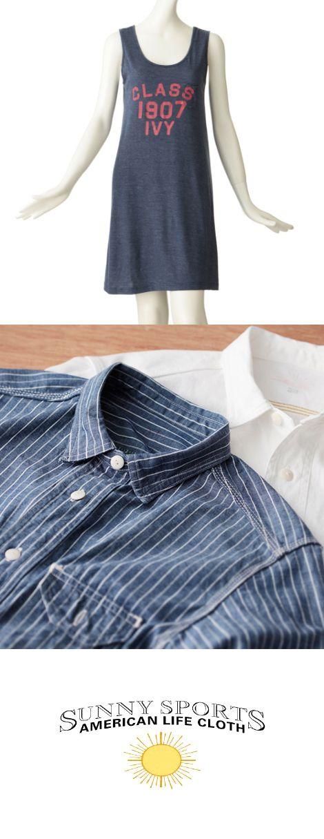 10年着られるデイリーウェア SUNNY SPORTS(サニースポーツ)   輝く太陽のように「明るく陽気な気分にさせてくれる」ブランドであり続けたいという思いを込め、2004年SUNNY SPORTSはスタートしました。  アメリカン・ベーシックであるUtility Wearをもとに、「休日」「海」「太陽」「西海岸」といった独自のフィルターを通したコレクションを展開。現代的エッセンスを加えながら縫製と素材選びにこだわり、10年着られるデイリーウェアを作り続けています。