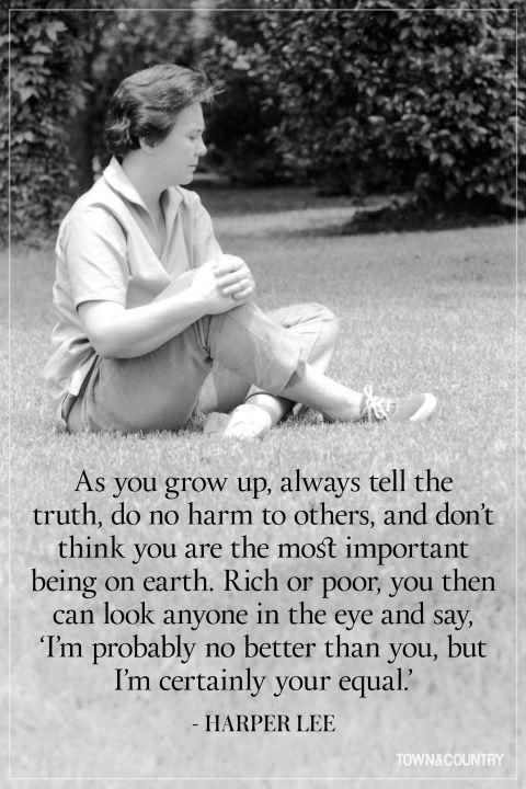 Harper Lee, 28. April 1926  - 19. Februar 2016, Monroeville, Alabama .♔..