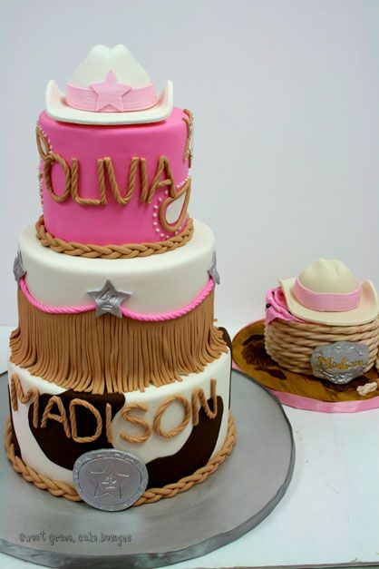 Birthday Cakes NJ - Cowgirl Custom Cakes and Smash