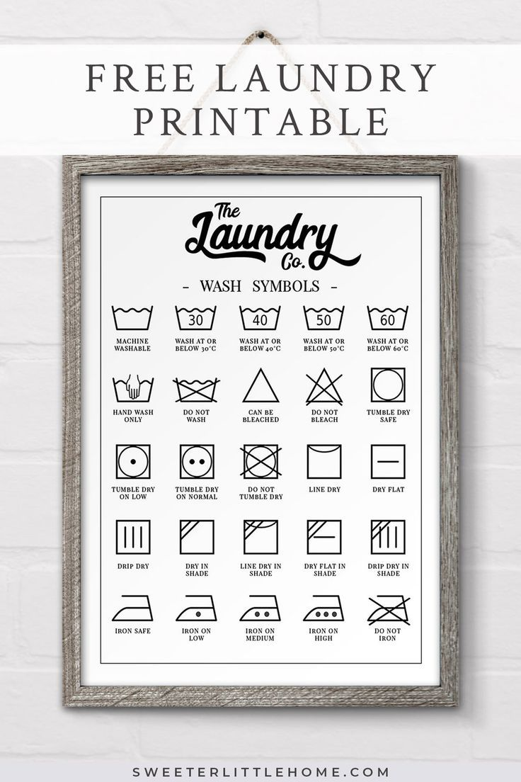 This is a photo of Printable Laundry Symbols throughout universal