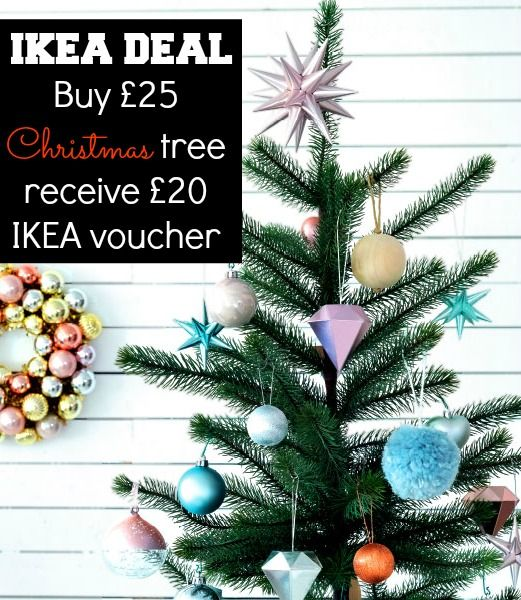 Amazing Ikea Christmas tree deal! Excludes Croydon and a couple of other stores - good in the Walsall branch though!