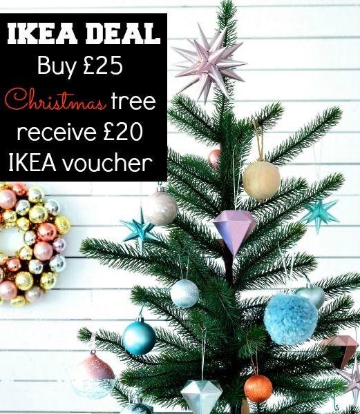 Amazing Ikea Christmas tree deal!