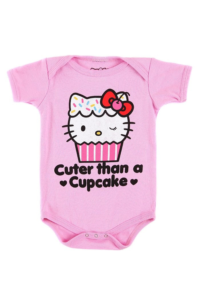 Hello Kitty cuter than a cupcake