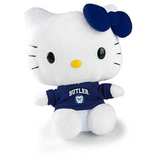 Hello Kitty Goes to College Butler Bulldogs Plush ** See this great product.Note:It is affiliate link to Amazon.