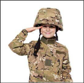 Military Party theme for Kids!
