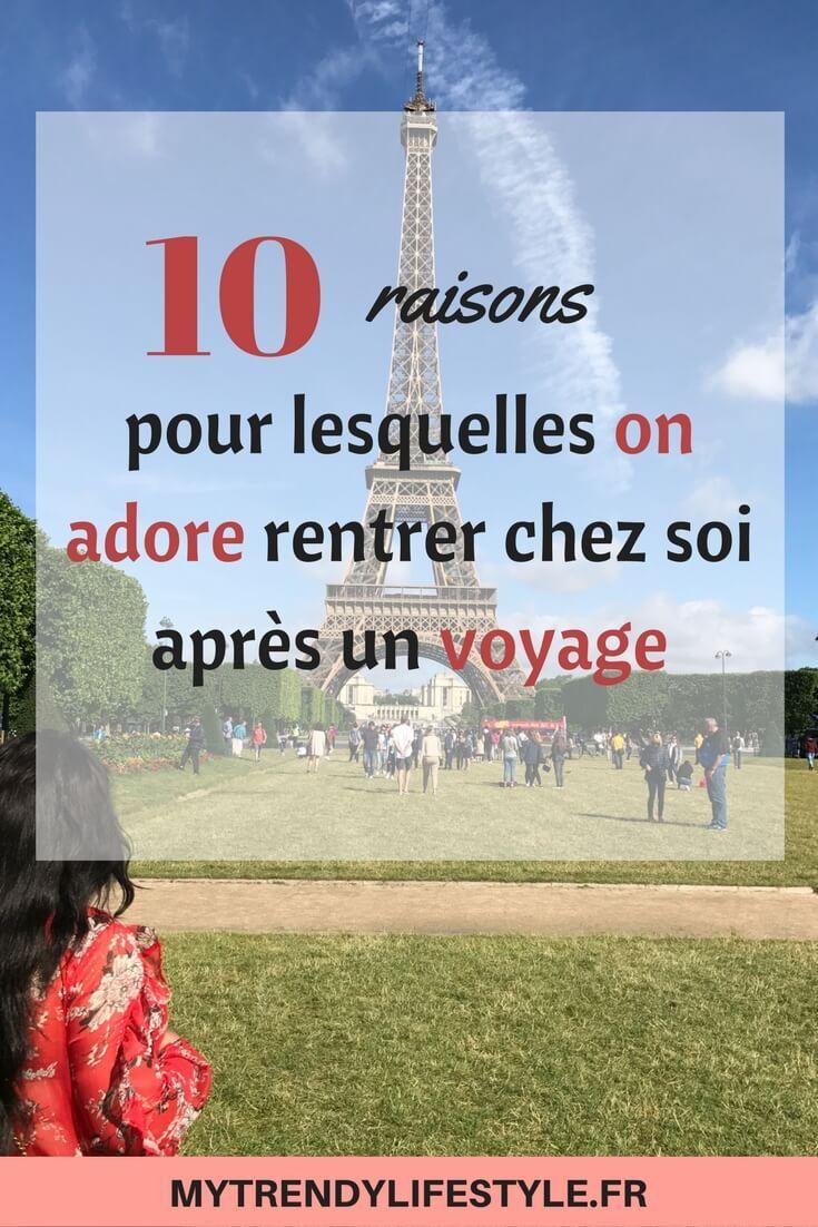 10 raisons pour lesquelles on adore rentrer chez soi après un voyage