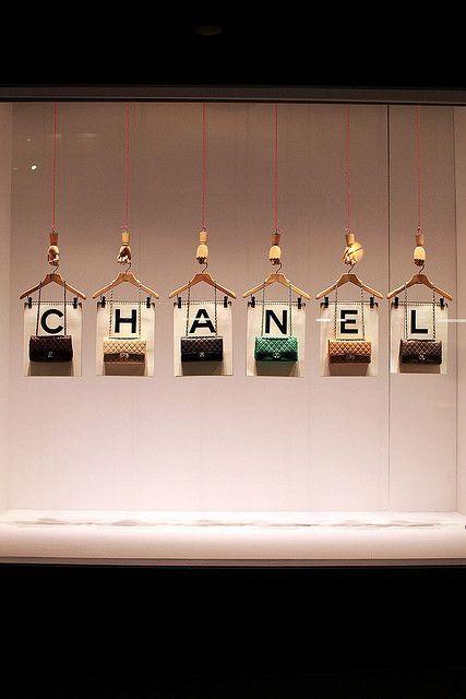 chanel handbag display - Google Search