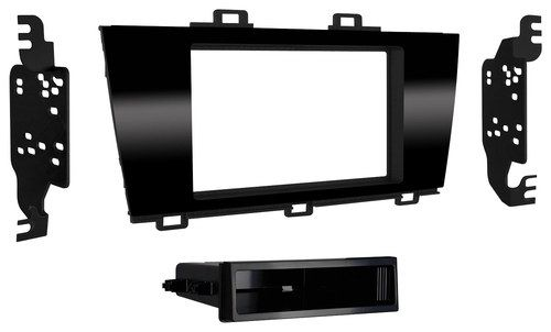 Metra - Dash Kit for Select Subaru Vehicles - High-Gloss Black