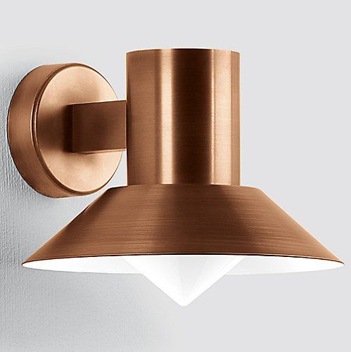 Boom LED Copper Directional Wall Light - 1058/1060 & 7 best Lighting images on Pinterest | Lamps Exterior lighting and ...