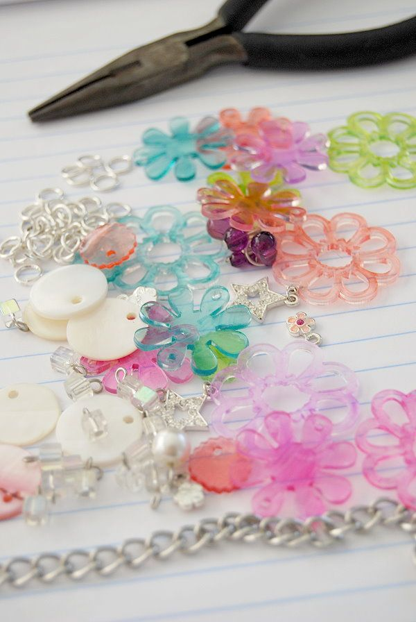 Use cricut/silhouette to cut out shrink-a-dinks for jewelry!