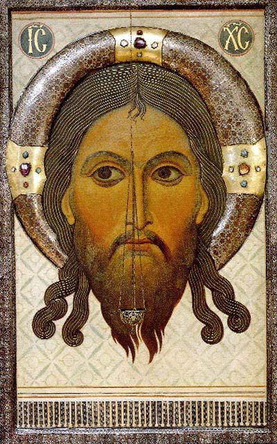 СПАС НЕРУКОТВОРНЫЙ Церковь Серафима Саровского в Троицком соборе (Псков)