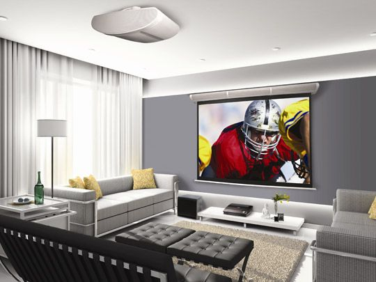Projector Screen For Basement