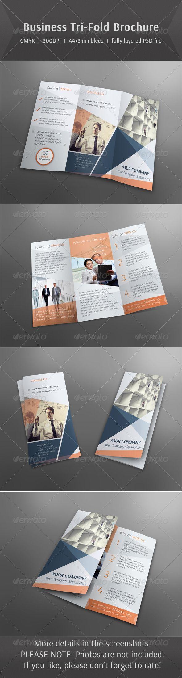 The Best Tri Fold Brochure Template Ideas On Pinterest Tri - Template for a brochure