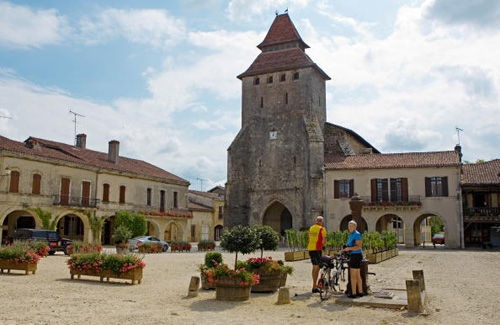 Gascony. A Place In The Sun: The village of Labastide d'Armagnac