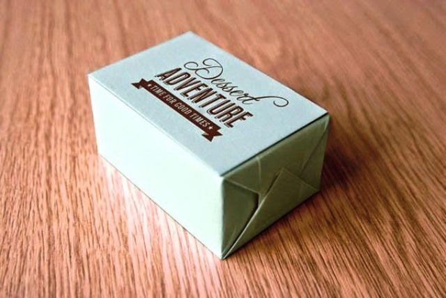Desain Kreatif Kemasan Makanan - Dessert Adventure oleh Citra Limanto