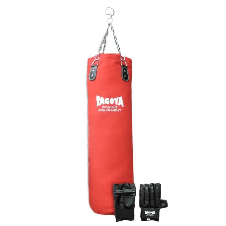 SoloArtesMarciales: Saco de Boxeo en ... en  http://soloartesmarciales.com/products/saco-de-boxeo-en-lona-100-cm-relleno-guantillas-de-regalo