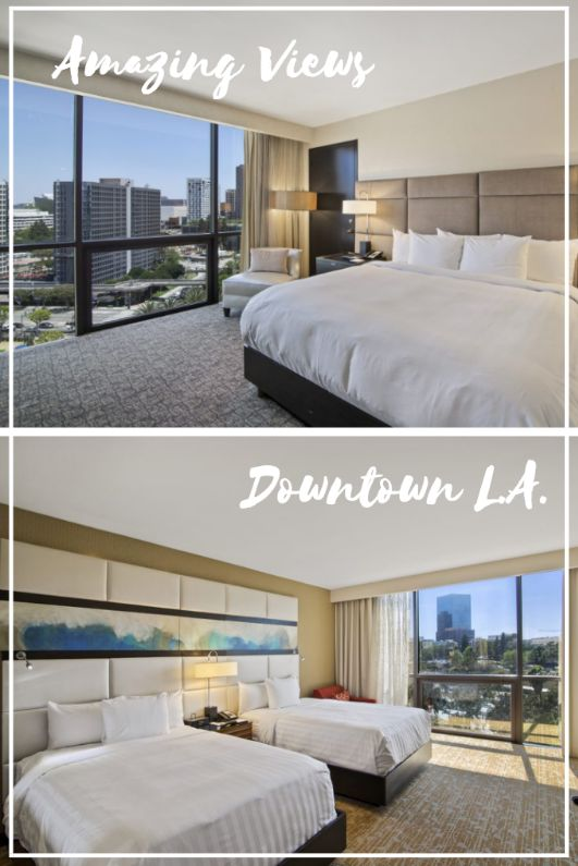 Sleep in the center of Downtown Los Angeles and get an amazing view at the L.A. Hotel! Downtown Los Angeles Hotels. #California #Style #USA #tourism #holiday #vacation #explore #SoCal #travel #relax #hotels #style #lifestyle #luxurylife #luxurylifestyle  #dtla #businesstravel