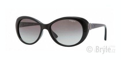 Dámské sluneční brýle Vogue s černými plastovými obrubami oválného tvaru, který dokáže zvýraznit Vaši jedinečnost! Kvalitní plastové čočky zajišťují skutečně spolehlivou ochranu zraku. Velmi atraktivní a nadčasový styl, který jen tak nevyjde z módy! https://www.i-bryle.cz/zbozi/10848/slunecni-bryle/VOGUE-2770-W44-11.html