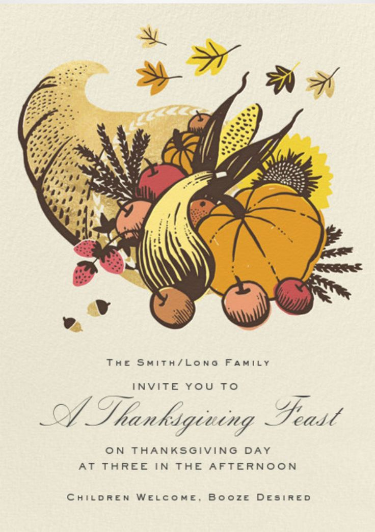 Best Invites Images On Pinterest Invites Free Printable And - Thanksgiving party invitation templates
