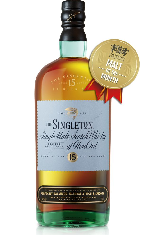 The Whisky Exchange Malt of the Month – Singleton of Glen Ord 15 Year Old