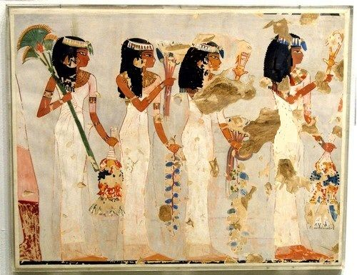 Egyptian Paintings Of Women
