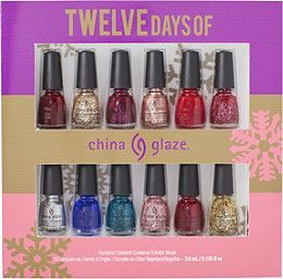 (7)China Glaze Online Only 12 Days of China Glaze