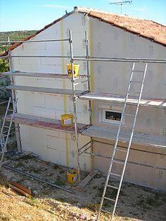 Guide de l'isolation thermique extérieure polystyrène (ITE) - Autoconstruction - Autoconstruire sa maison