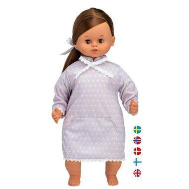 """mumsdelivery reviews the NEW Skrallan Talking doll (45 cm)  """"Ideal to encourage multilingualism. The girls love this realistic doll which scored well for price, safety and being age appropriate."""""""