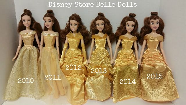 Never Grow Up: A Mom's Guide to Dolls and More: Disney Store Classic Belle 2015 Doll Review
