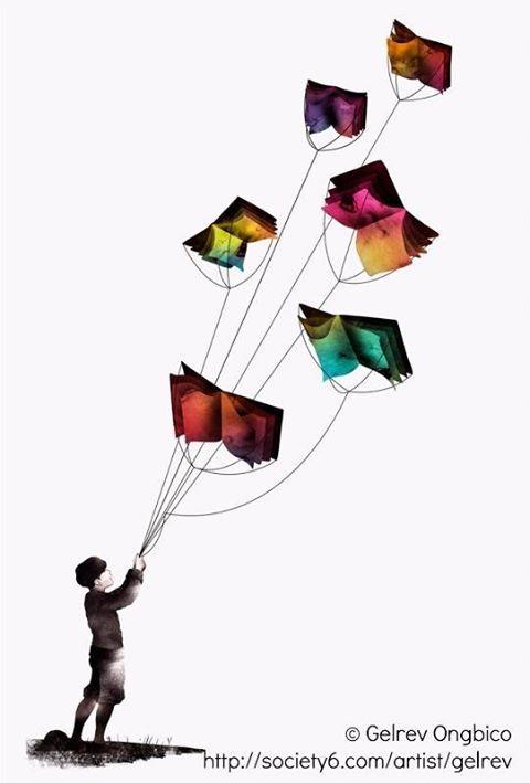 I libri fanno volare.