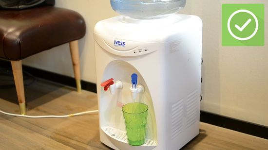 How To Clean A Water Dispenser 10 Steps With Pictures Wikihow Water Dispenser Cleaning Dispenser