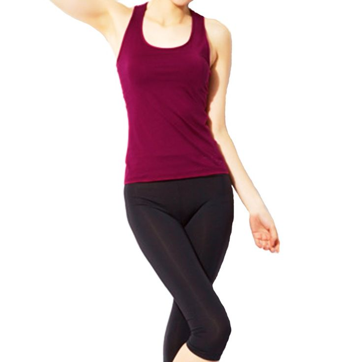 Echoine Women Aerobics Fitness Workout Yoga Clothes with Two Piece M Wine Red. Main fabric material:Pure man-made fibers,100% brand new and high quality. Recommend hand wash. Womens Aerobics Workout Yoga Clothes with Two Piece Stitching Sweatshirts. High quality 2 piece matching set,It has good flexibility and excellent moisture absorption. Suit for Occasion:Sports,fitness,exercise,dance aerobics,yoga.