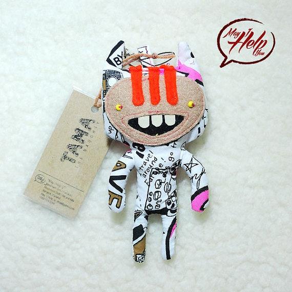 02 Tama  The Naughty 9 Lives Cat Project  Handmade by MayIHelpU, $8.00