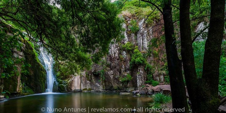 water fall nearby Quinta dos Bons Cheiros