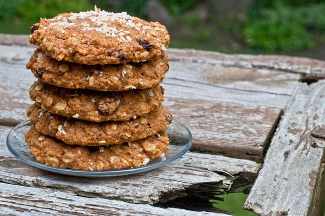 Healthy Carrot Cake Power Scuffins - Breakfast