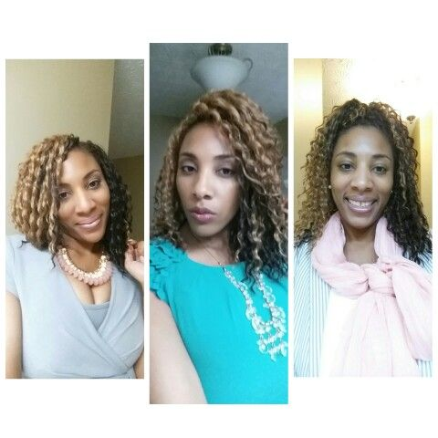 Two-toned Freetress crochet braids