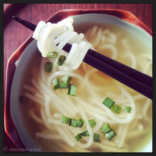 Recipe: homemade bun rice noodles / Ricetta: vermicelli di riso fatti in casa — H like Hanoi, Vietnam