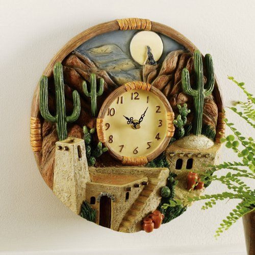 Southwest Scene Hanging Wall Clock Collections Etc,http://www.amazon.com/dp/B005EH1OF4/ref=cm_sw_r_pi_dp_6oTwtb0GZWH2F24T