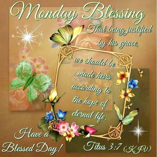 Monday Christmas Blessings | Monday Blessings Have A Blessed Day Image Pictures, Photos, and Images ...