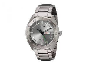 Citizen Watches AW0060-54A Titanium (Silver) Watches