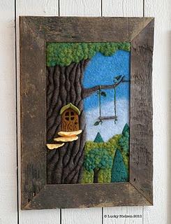 Felt | Needle felting ideas | Pinterest | Needle Felting, Felt Tree ...